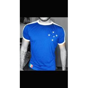 014a4a7c2ae29 Camisa Retro Cruzeiro - Camisa Cruzeiro Masculina no Mercado Livre Brasil