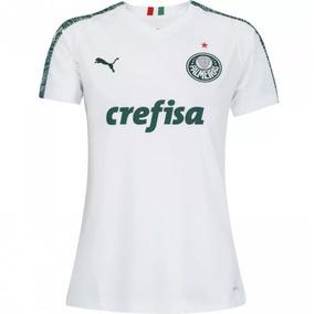 733d50a0fdfbb Camisa Feminina Do Palmeiras Verde E Dourada no Mercado Livre Brasil