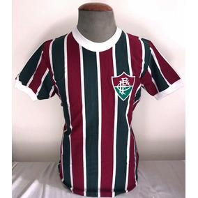 5db6a8033526b Camisa Adidas Retrô Do Fluminense - Futebol no Mercado Livre Brasil