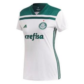 58aed4c2b142a Camisa Palmeiras Amarela Feminina - Futebol no Mercado Livre Brasil