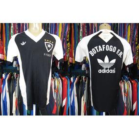 b26ba79e33e8b Camisa Retro Botafogo Adida - Camisa Botafogo Masculina no Mercado Livre  Brasil