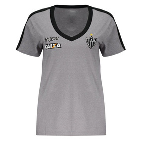 771ea52c74f1c Camisa Atletico Mineiro Feminina - Futebol no Mercado Livre Brasil