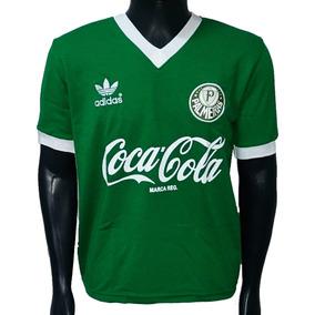770066ae1ded6 Camisa Retro Palmeiras (1989) - - Camisa Palmeiras Masculina no Mercado  Livre Brasil