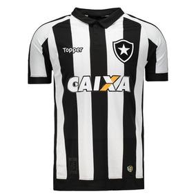 8ee15cc45de5f Camisa Aquecimento Botafogo 2017 - Camisa Botafogo Masculina no Mercado  Livre Brasil