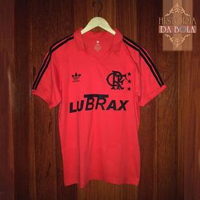 4e3c777c555ad Camisa Flamengo Lubrax 87 Nova - Futebol no Mercado Livre Brasil