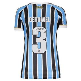 bb9e82f52a95f Camisa Geromel - Camisa Grêmio Feminina no Mercado Livre Brasil