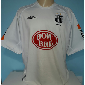 d6924ff8078c1 Camisa Santos 2004 - Camisas de Times de Futebol no Mercado Livre Brasil