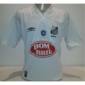75d4522f99eda Camisa Santos 2002 Bombril no Mercado Livre Brasil