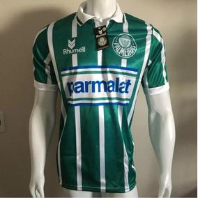 f889f93dbfc64 Camisa Do Palmeiras Listrada Verde E Branco no Mercado Livre Brasil