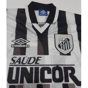 ebb35c9ac8a86 Camisa Santos Bombril Listrada - Camisas de Times de Futebol no Mercado  Livre Brasil