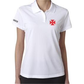 68235206bb237 Camisa Polo Feminina Do Vasco no Mercado Livre Brasil