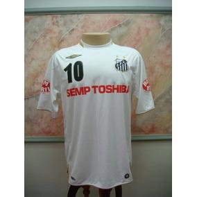 28545f340d716 Camisa Santos Semp Toshiba Azul - Camisa Santos no Mercado Livre Brasil