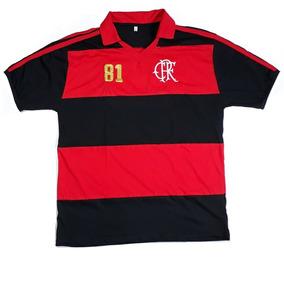 ed73bd997edd9 Flamengo Autografo Time 1981 Zico - Camisa Flamengo no Mercado Livre Brasil