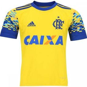 07123f8a3f495 Camisa Flamengo Amarela Infantil - Camisa Flamengo no Mercado Livre Brasil
