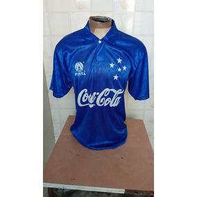 1deacbcef9 Camisa Do Cruzeiro Finta Branca no Mercado Livre Brasil