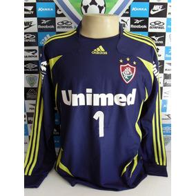 70edbd88315fc Camisa Goleiro Fluminense Azul Manga - Futebol no Mercado Livre Brasil