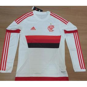 de68e6859a956 Camisa Flamengo Manga Longa - Futebol no Mercado Livre Brasil