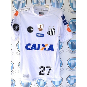 44d595479c586 Camisa Santos Kappa - Camisa Santos Masculina no Mercado Livre Brasil
