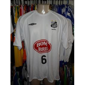 eef8578d1ee6b Camisa Santos Bombril - Camisas de Futebol no Mercado Livre Brasil