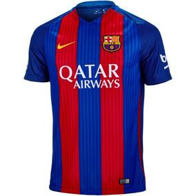 9c04478960e9b Camisa Do Barcelona Iniesta Infantil - Camisas de Futebol no Mercado Livre  Brasil