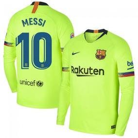 457ef4c97f Camisa Manga Longa Barcelona Infantil - Camisa Barcelona Masculina no  Mercado Livre Brasil