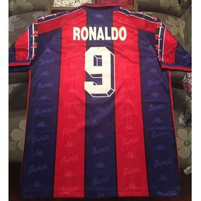 fe241e4af257e Ronaldo !! Camisa Barcelona Kappa Anos 90 - Camisas de Times de Futebol no  Mercado Livre Brasil