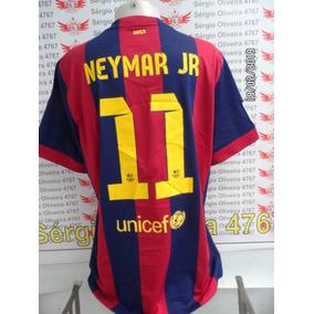 8fdfd615baec7 Camisa Do Barcelona Infantil Neymar - Camisa Barcelona no Mercado Livre  Brasil