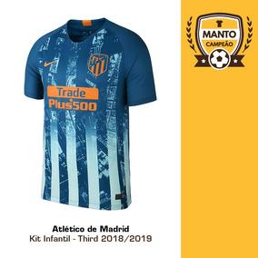 e52a4dea78c3f Kit Infantil Atletico De Madrid - Futebol no Mercado Livre Brasil