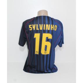 c18e4aa3795a6 Camisa Nike Barcelona Away Authentic - Camisas de Futebol no Mercado Livre  Brasil