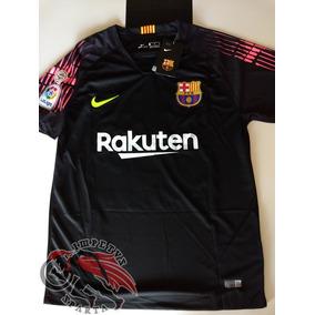 19d0fe31bfafd Camisa Time Barcelona Goleiro Gk - Futebol no Mercado Livre Brasil