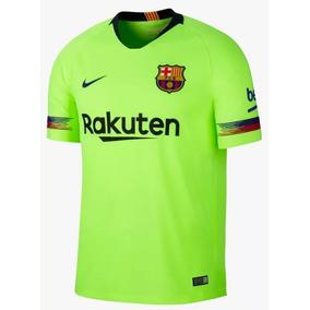 a5f1bbf7fbfdf Camisa Do Barcelona Versão Jogador 2018 2019 no Mercado Livre Brasil