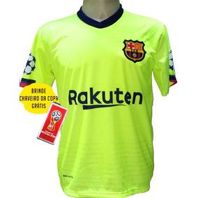 d9588efef09cc Camisa Barcelona Laranja Messi no Mercado Livre Brasil