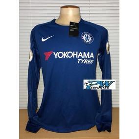 60d279f25b476 Camisa Chelsea Mangas Longas Eto´o