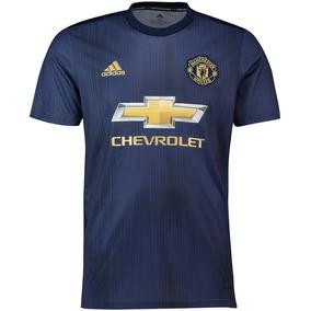 d0aa7a3b1627d Camisa Manchester United Azul - Camisa Manchester United Masculina no  Mercado Livre Brasil