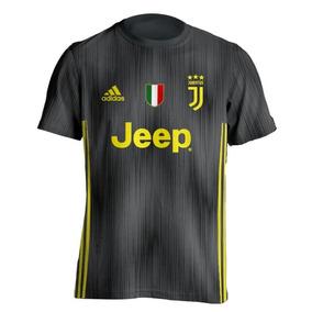 79947046b15cc Camisa Juventus Preta - Camisa Juventus Masculina no Mercado Livre Brasil