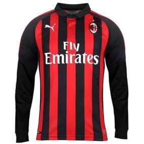 fa0b919abaac3 Camisa Milan 2016 - Camisa Milan Masculina no Mercado Livre Brasil
