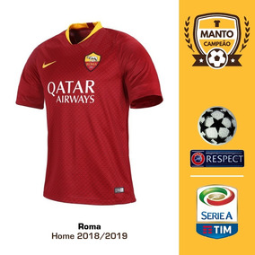 059f30bae28f1 Camisa Roma De Rossi 1º Camisas Times Italianos Masculina - Futebol no  Mercado Livre Brasil