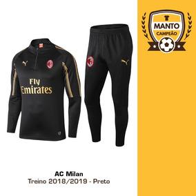 59776374ce4aa Camisa Do Milan 2018 - Camisa Milan Masculina no Mercado Livre Brasil