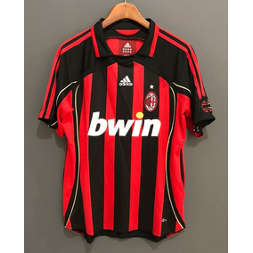 7f571a4e322d6 Camisa Milan Jogador - Camisa Milan Masculina no Mercado Livre Brasil