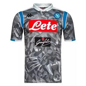 bd90b7ee2c72e Camisa Napoli 2018 - Camisa Napoli Masculina no Mercado Livre Brasil