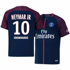 8c8e8274f80b1 Camisa Psg 2017 Neymar - Camisas de Times de Futebol no Mercado Livre Brasil