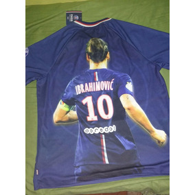 54761be783d4d Camisa Psg Ibrahimovic - Camisas de Times Franceses Masculina no Mercado  Livre Brasil