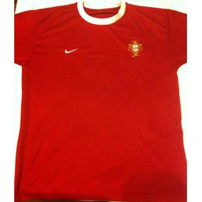 aaa37aec40a86 Camisa Seleção Portuguesa Autêntica Branca - Futebol no Mercado Livre Brasil
