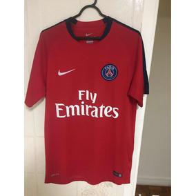 9c676e851 Camisa Paris Saint Germain Vermelha Times - Camisas de Futebol no Mercado  Livre Brasil