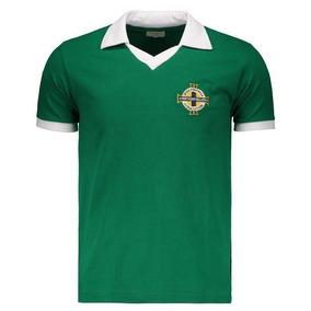 6f3d02c006665 Camisa Retro Irlanda no Mercado Livre Brasil