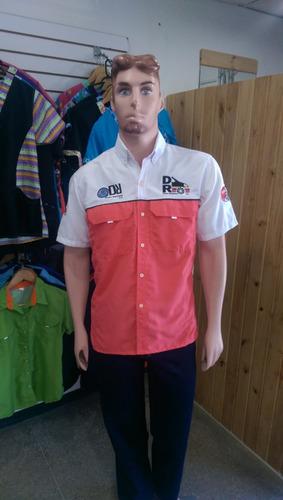 camisas tipo columbia