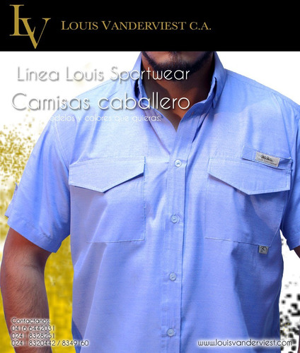 camisas tipo columbia                 louis vanderviest