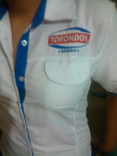 camisas tipo columbias,chemises uniformes