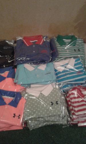 camisas tipo polo deportivas 150pzas