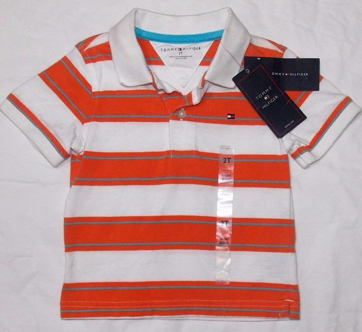 3efeacde1c0 Camisas Tipo Polo Tommy Hilfiger Bebe niño 100%originales -   499.00 ...